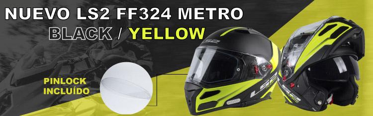 LS2 ff324 metro rapid negro amarillo fluor